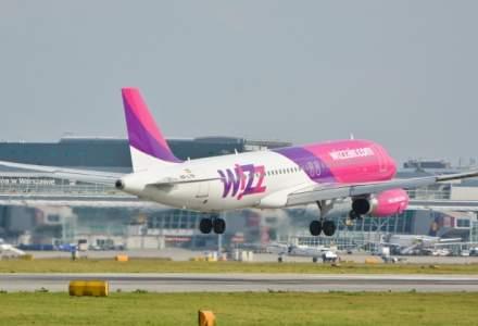 Wizz Air a inregistrat un avans de 34% al numarului de pasageri in primul trimestru