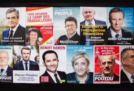 Alegerile din Franta, sub semnul extremelor: comunistul Jean-Luc Melenchon, Marine Le Pen si prabusirea partidelor istorice