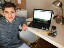 La 12 ani, Andrei Covaci a...