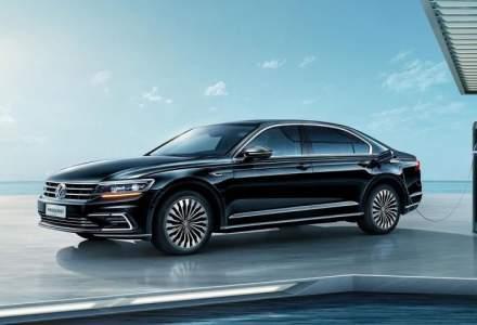 VW lanseaza la Shanghai noua versiune Phideon GTE PHEV