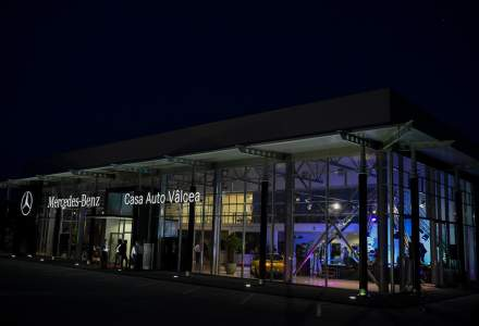 Investitie de 2 MIL. euro intr-un showroom Mercedes-Benz la Valcea