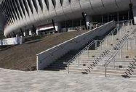 400.000 euro pentru amenajarea aleilor si parcarii stadionului Cluj Arena