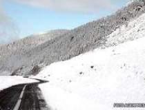 Prima ninsoare in Bucegi si...