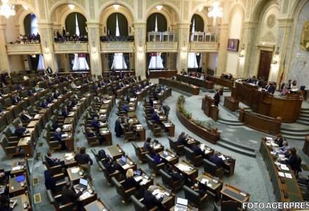 Senatul a aprobat Legea salarizarii. Proiectul va merge la Camera Deputatilor