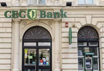 CEC Bank si-a redus rata creditelor neperformante cu 0,77 puncte procentuale dupa primele 4 luni