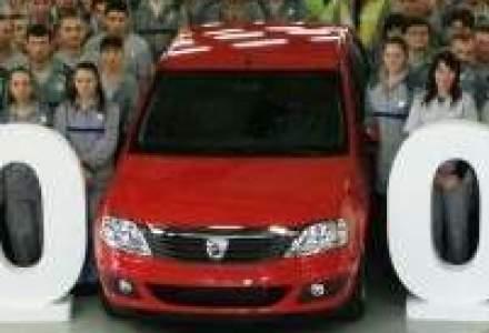 Uzina Dacia a produs 1,5 mil. vehicule pe platforma X90