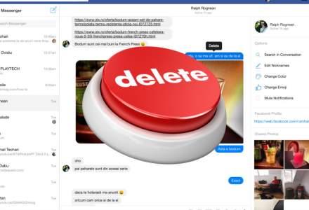 Cum stergi un mesaj de pe Facebook Messenger