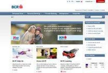 BCR si-a relansat pagina de internet