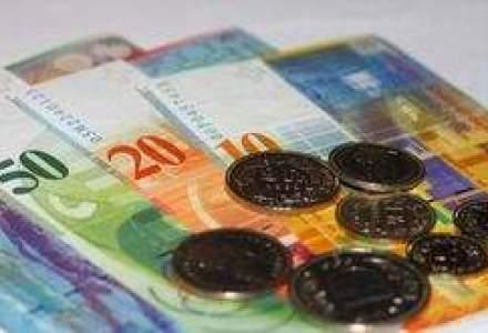 Elvetia, pregatita sa intervina daca aprecierea francului va creste riscurile