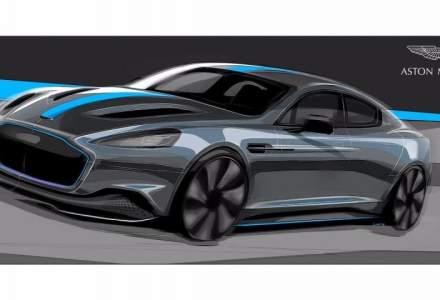 Aston Martin ataca piata masinilor complet electrice in 2019 cu modelul RapidE
