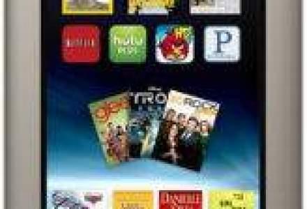 Tableta Nook costa cu 50$ mai mult decat Kindle Fire - afla specificatiile