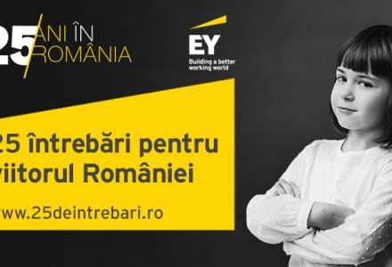 """(P) Incepe jurizarea intrebarilor in campania aniversara EY """"25 de intrebari pentru viitorul Romaniei"""""""