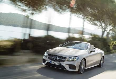 Mercedes-Benz lanseaza noul E Cabrio in septembrie. In Romania costa de la 54.228 euro