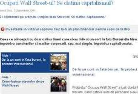Miscarea Ocupati Wall Street a ajuns la Harvard