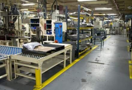 INS: Industria a crescut, in mai, cu un ritm anual de 17,3%, cel mai ridicat din ultimii patru ani