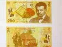 BNR lanseaza bancnota de 200...