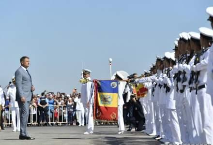 3.000 de militari ai Fortelor Navale participa la un exercitiu demonstrativ, de Ziua Marinei