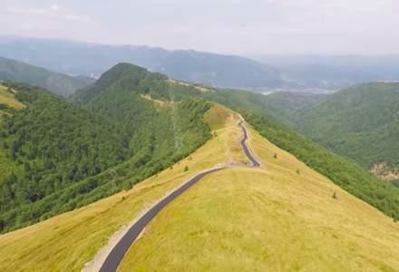 Transvilcan, drumul Voievodului Mihai Viteazul, este in curs de asfaltare. Vom avea inca o sosea montana frumoasa, alaturi de Transfagarasan si Transalpina