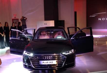 Audi A8, cea de-a patra generatie, a fost prezentat la Bucuresti