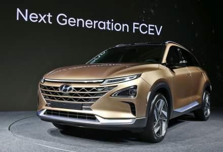 Hyundai dezvaluie cel de-al doilea vehicul pe baza de hidrogen