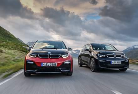BMW i3 facelift 170 CP si i3s 184 CP sosesc la Salonul Auto de la Frankfurt