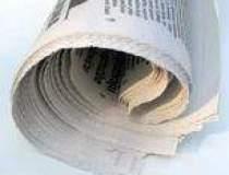 Tirajul ziarelor in recul,...