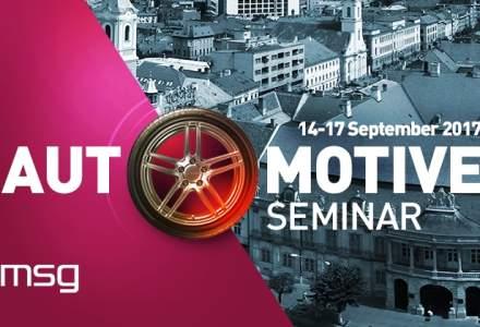 "(P) IT-istii clujeni, gazda pentru invitati din Germania si China la ""Automotive Seminar 2017"""