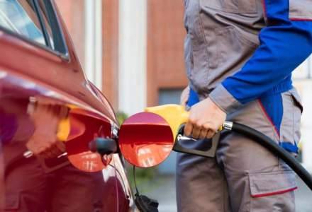 Benzina si motorina, mai scumpe cu 0,16 lei pe litru