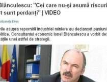 """Ionel Blanculescu: """"Cei care..."""