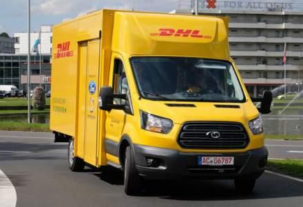 Colaborare cu nemtii: Ford vrea sa produca dube electrice alaturi de DHL