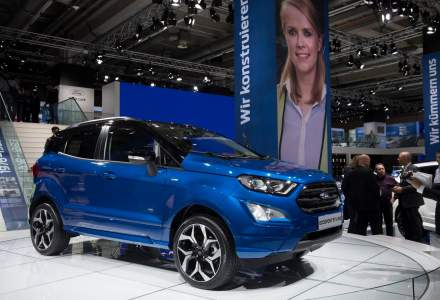 Ford Craiova a inceput productia SUV-ului EcoSport pentru piata europeana