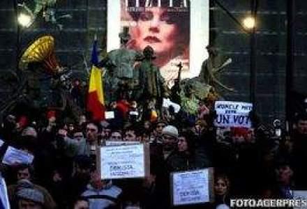 Oamenii de afaceri, despre PROTESTE: Ca la stadion! Violenta naste frica!