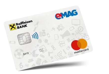 Card co-branded eMAG si Raiffeisen: Cum ii ajuta pe clienti