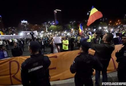 PSD vrea sa descurajeze protestele: Jandarmii ar putea avea mai multe drepturi, potrivit unui proiect de lege