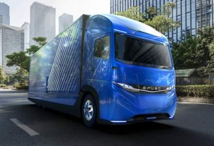 Mitsubishi E-Fuso Vision One: concept Daimler pentru un camion electric cu autonomie de 350 de kilometri