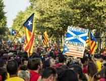 Barcelona fierbe: Parlamentul...
