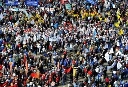 Proteste in Bucuresti si alte orase fata de proiectele de modificare a Legilor Justitiei