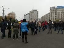 Protest in Piata Victoriei,...
