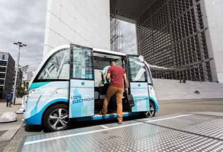 Robo-taxi: un start-up din Franta vrea sa lanseze un vehicul fara sofer