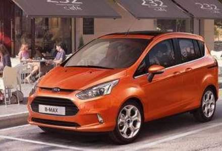 Prima poza oficiala cu Ford B-MAX fabricat la Craiova