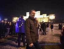 Dacian Ciolos, la protest:...