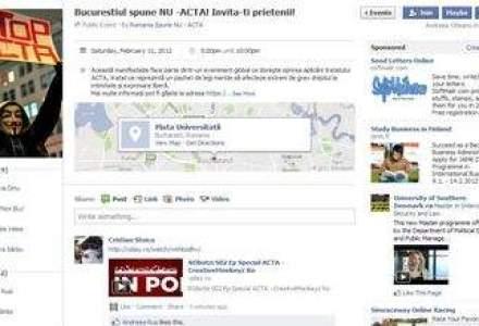11 februarie 2012 - Ziua cand toata Romania este chemata sa protesteze impotriva ACTA!