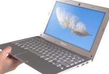 Evolio pune in vanzare cel mai usor laptop din lume