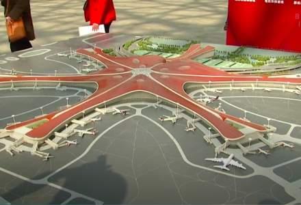 China construieste un mega-aeroport in Beijing. Va fi cel mai mare din lume