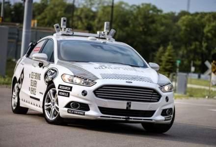 """Planuri de viitor: Ford vrea sa dezvolte o masina """"complet noua"""" pentru condusul autonom"""