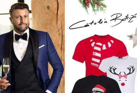 Catalin Botezatu vinde in Kaufland Romania o colectie de haine inspirata de sarbatorile de iarna