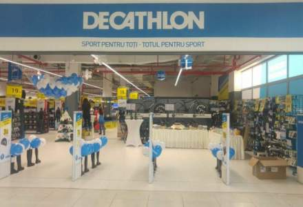 Decathlon deschide primul magazin din Piatra Neamt, in urma unei investitii de 650.000 euro