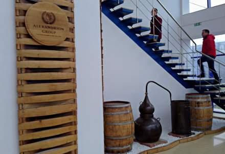 In vizita la distileriile Alexandrion din Prahova, liderul pietei locale de bauturi spirtoase