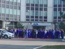 Protest spontan la Ford Craiova