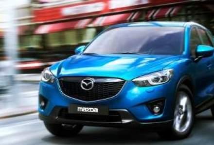 SUV-ul Mazda CX-5 este disponibil in Romania